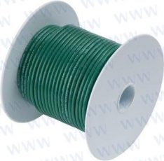 25' Tinned Copper Wire 16 AWG (1mm²) Gr