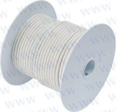 25' Tinned Copper Wire 16 AWG (1mm²) Wh