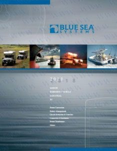 BLUE SEA CATALOGUE 2018