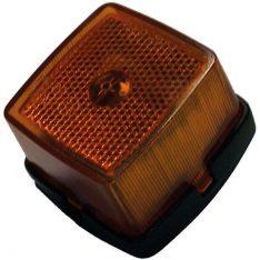 Side makerings lygte orange 62x65x40mm