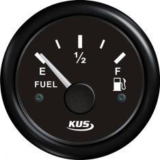 Kus brændstofmåler sort 0-190ohm 12/24v