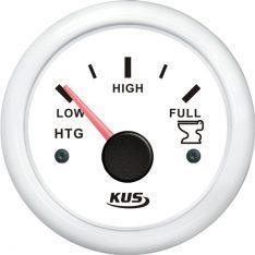 Kus tankmåler waste, hvid 240-33ohm, 12/24v